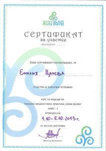сертификат жива вълна